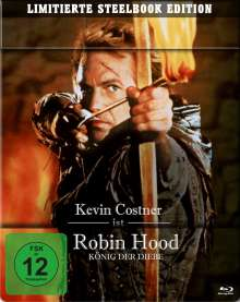 Robin Hood - König der Diebe (Blu-ray im Steelbook), 2 Blu-ray Discs