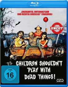 Children Shouldn't Play with Dead Things (Blu-ray), Blu-ray Disc