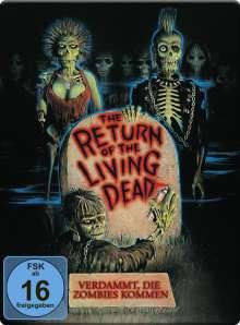 The Return of the living Dead - Verdammt, die Zombies kommen (Blu-ray im Steelbook), 2 Blu-ray Discs