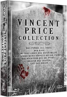 Vincent Price Collection (Blu-ray im Mediabook), 7 Blu-ray Discs
