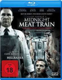Midnight Meat Train (Blu-ray), Blu-ray Disc