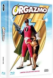 Orgazmo (Blu-ray & DVD im Mediabook), 1 Blu-ray Disc und 1 DVD