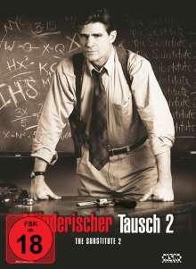 Mörderischer Tausch 2 (The Substitute 2) (Blu-ray & DVD im Mediabook), 2 Blu-ray Discs