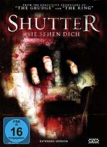Shutter - Sie sehen dich (Blu-ray & DVD im Mediabook), 1 Blu-ray Disc und 1 DVD