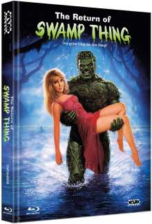 Das grüne Ding aus dem Sumpf (Blu-ray & DVD im Mediabook), 1 Blu-ray Disc und 1 DVD