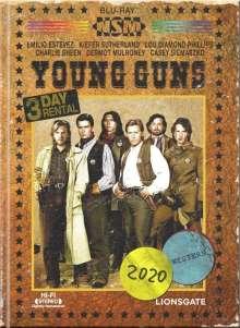 Young Guns (Blu-ray & DVD im Mediabook), 1 Blu-ray Disc und 1 DVD