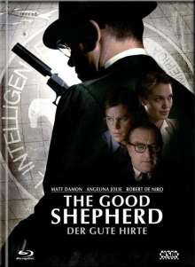 The Good Shephered - Der Gute Hirte - Mediabook - Limited Collector's Edition Cover B  (+ DVD), Blu-ray Disc