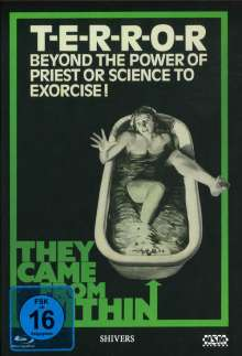 They Came From Within (Shivers) (Blu-ray & DVD im Mediabook), 2 Blu-ray Discs