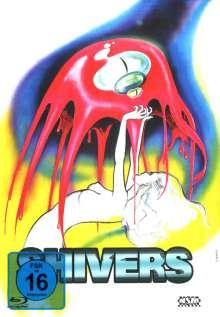 Shivers (Blu-ray & DVD im Mediabook), 2 Blu-ray Discs