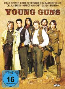 Young Guns (Blu-ray & DVD im Mediabook), 1 Blu-ray Disc und 1 DVD
