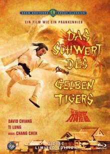 Das Schwert des gelben Tigers (Blu-ray & DVD), Blu-ray Disc