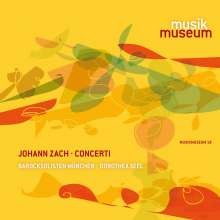 Johann Zach (1713-1773): Concerti, CD