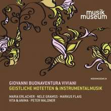 "Giovanni Buonaventura Viviani (1638-1692): Geistliche Motetten aus ""Salmi, Motetti e Litanie"" op.5 (Bologna, 1688), CD"