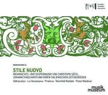 Stile Nuovo - Weihnachts- und Vespermusik, 2 CDs