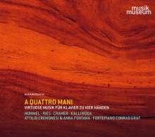 Attilio Cremonesi & Anna Fontana - A Quattro Mani, CD