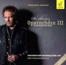 Kendlinger - Die schönsten Opernchöre III, CD