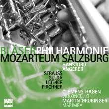 Bläserphilharmonie Mozarteum Salzburg - Strauss / Gulda / Leitner / Pirchner, CD