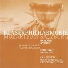 Bläserphilharmonie Mozarteum Salzburg - Klangexplosionen, CD