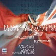 Bläserphilharmonie Mozarteum Salzburg - Wien trifft London, 2 CDs