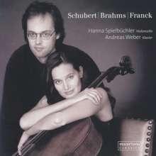 Hanna Spielbüchler - Schubert / Brahms / Franck, CD