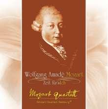 Mozart Quartett Salzburg - W.Amadé Mozart- Zeit für's Ich, CD