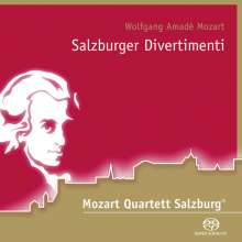 Mozart Quartett Salzburg - Salzburger Divertimenti, Super Audio CD