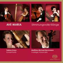 "Musik für Cello & Harfe - ""Ave Maria"", Super Audio CD"