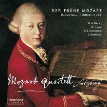 Wolfgang Amadeus Mozart (1756-1791): Streichquartette Nr.1 & 2, CD
