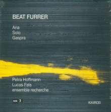 Beat Furrer (geb. 1954): Solo für Cello, CD