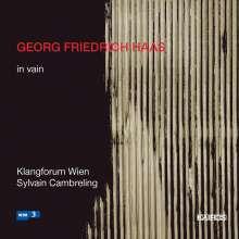 Georg Friedrich Haas (geb. 1953): In Vain für 24 Instrumente, CD