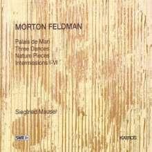 Morton Feldman (1926-1987): Klavierwerke, CD