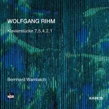 Wolfgang Rihm (geb. 1952): Klavierstücke 1,2,4,5,7, CD