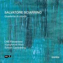 Salvatore Sciarrino (geb. 1947): Lieder für Bariton & Ensemble, CD