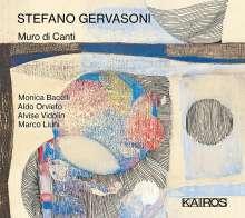 Stefano Gervasoni (geb. 1962): Muro di canti für Computer, CD