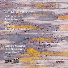 Gerard Grisey (1946-1998): Solo pour deux für Klarinette & Posaune, CD