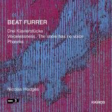Beat Furrer (geb. 1954): Klavierwerke, CD