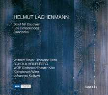 Helmut Lachenmann (geb. 1935): Les Consolations für 16 Stimmen & Orchester, 2 CDs