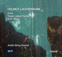 Helmut Lachenmann (geb. 1935): Streichquartette Nr.2 & 3, CD