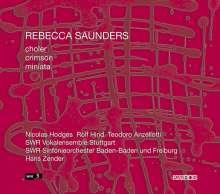 Rebecca Saunders (geb. 1967): Miniata (2004) für Akkordeon,Klavier,Chor,Orchester, CD