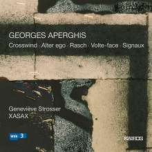 Georges Aperghis (geb. 1945): Crosswind für Viola & 4 Saxophone, CD
