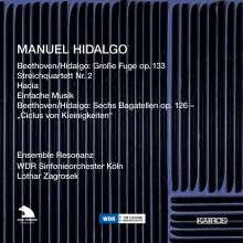 Manuel Hidalgo (geb. 1956): Streichquartette Nr.1 & 2, CD