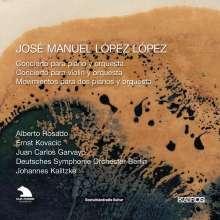 Jose Manuel Lopez Lopez (geb. 1956): Klavierkonzert, CD