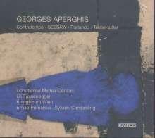 Georges Aperghis (geb. 1945): Contretemps für Sopran & Ensemble, CD