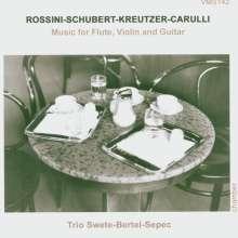 Musik für Flöte,Violine & Gitarre, CD