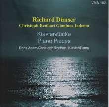 Richard Dünser (geb. 1959): Klavierwerke, CD