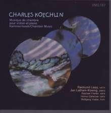 Charles Koechlin (1867-1950): Kammermusik mit Violine, CD