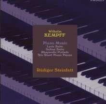 Wilhelm Kempff (1895-1991): Klavierwerke, CD