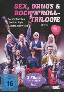 Sex, Drugs & Rock'n Roll-Trilogie, 3 DVDs