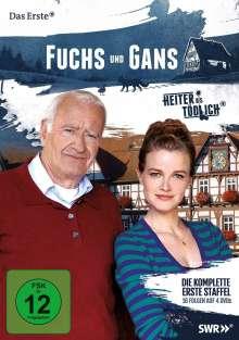 Heiter bis tödlich: Fuchs und Gans Staffel 1, 4 DVDs