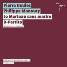 Pierre Boulez (1925-2016): Le Marteau sans Maitre, CD